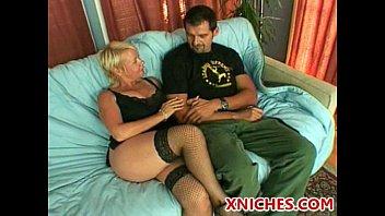 LustyGrandmas Sexy MILF Is Thirsty For Her Stepson's Big Cock & Cum