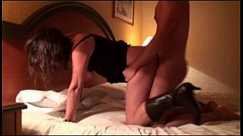Husband films wife fucking in hotel