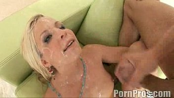 BF CUMS INSIDE ME Pushes CREAMPIE Back In Pussy And Continues To Fuck Me